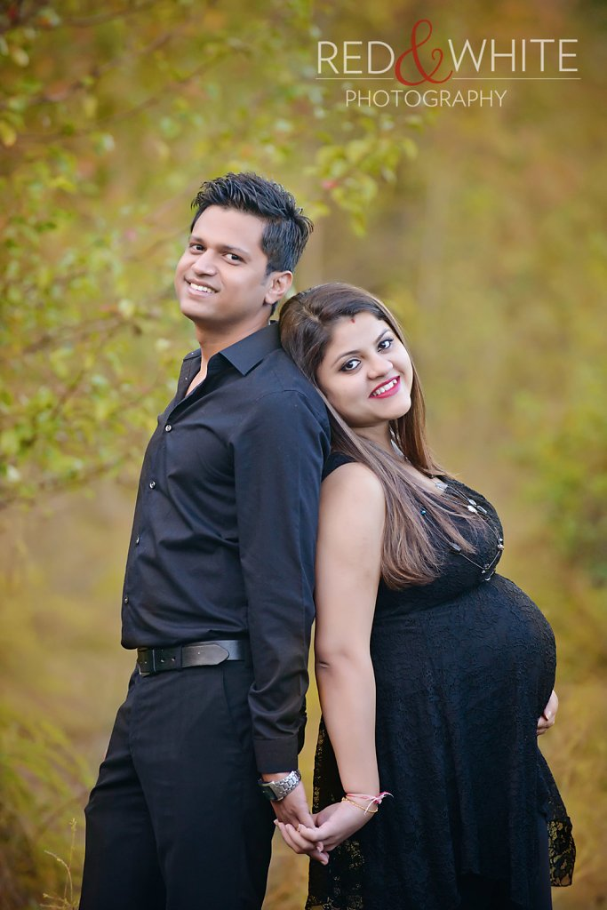 Dimple Prajapati Maternity Shoot